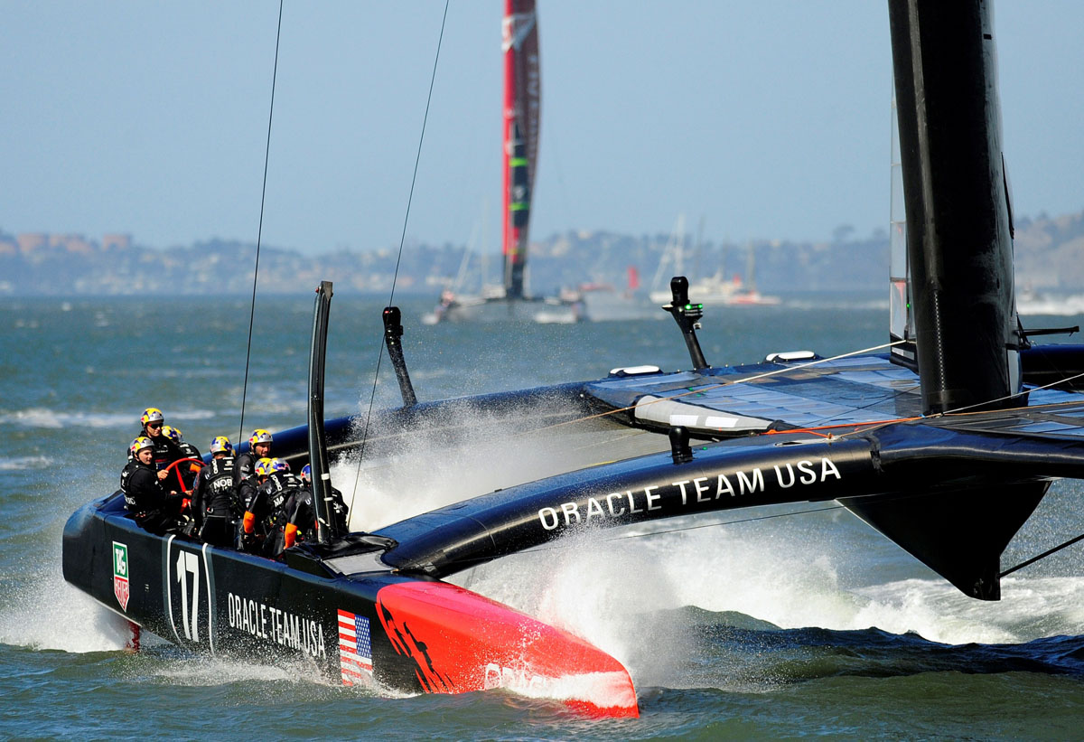 Oracle Team USA wins 2013 America's Cup