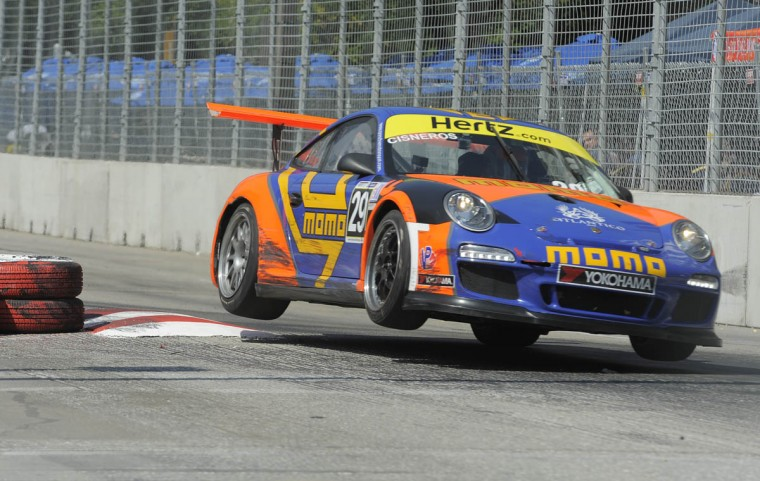 Grand Prix of Baltimore GT3 Cup Challenge, #29 car driven by Eduardo Cisneros. (Lloyd Fox/Baltimore Sun)