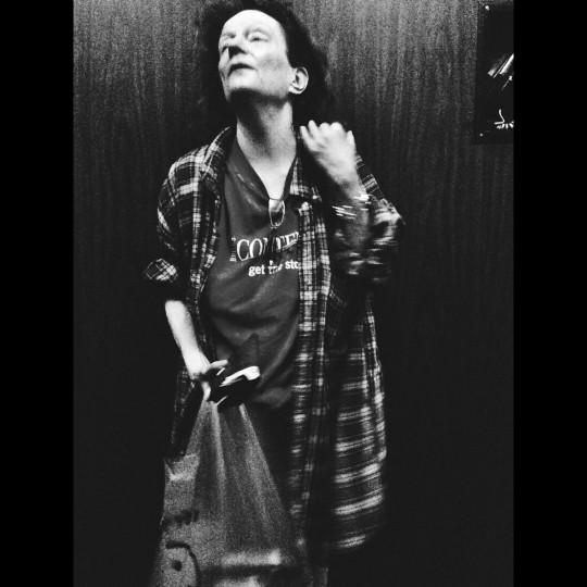 Elevator Lady, University Apartments. (Credit: Noah Scialom)
