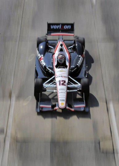 Will Power drives his car down the straightaway during the IZOD IndyCar Series at the 2013 Grand Prix of Baltimore. (Karl Merton Ferron/Baltimore Sun)