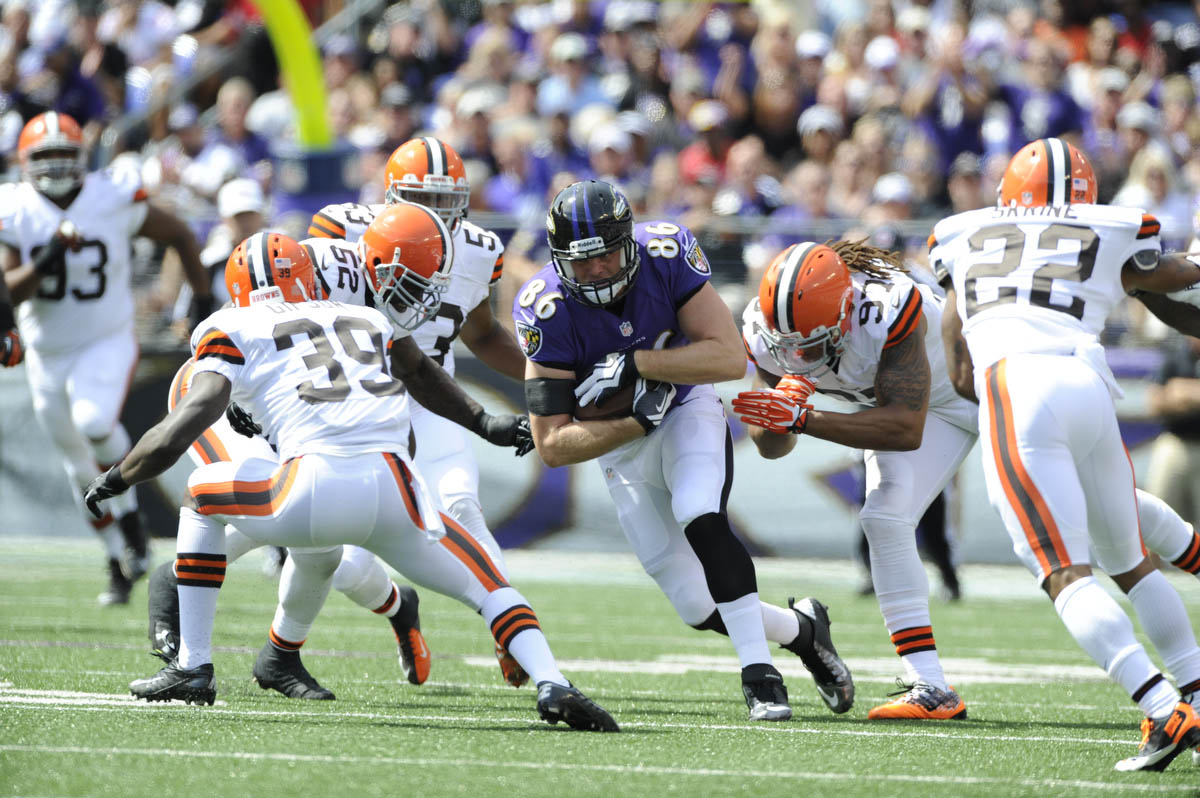 Rough Cut: A raw edit from the Ravens' home opening win over the Browns