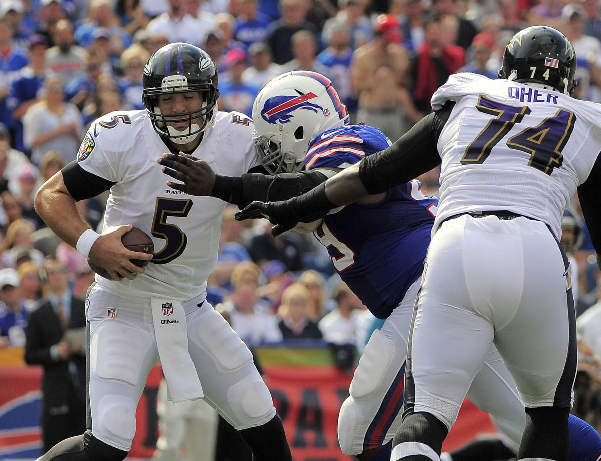 Rough Cut: A raw edit from the Ravens' loss to the Buffalo Bills