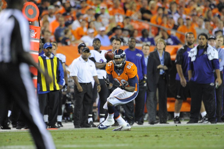 Baltimore Ravens vs Denver Broncos NFL football at Sports Authority Field at Mile High Stadium. (Lloyd Fox/Baltimore Sun)