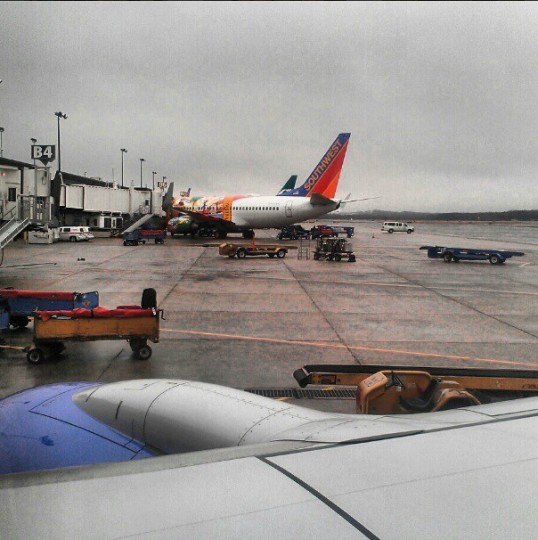 Leaving Baltimore to report to spring training in Sarasota on Feb. 11, 2013.