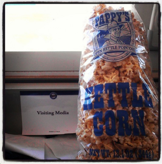 The best kettle corn in the Grapefruit League is at Hammond Stadium, pictured on March 26, 2013.