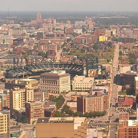 A view of Detroit on June 17, 2013.