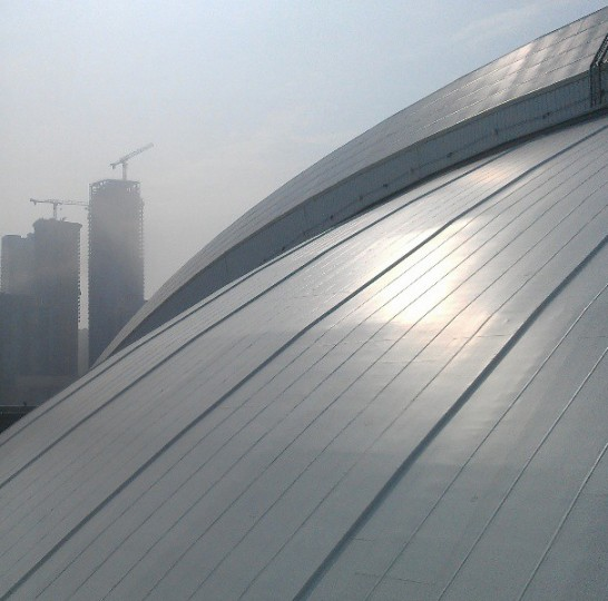 A view of the Rogers Centre dome in Toronto on June 23, 2013.
