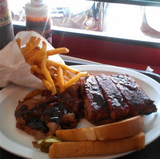 Oklahoma Joe's BBQ in Kansas City lived up to the hype on July 25, 2013.
