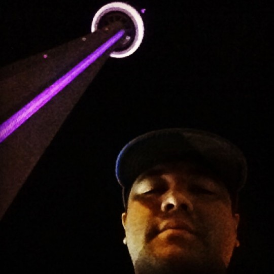 Standing below the CN Tower in Toronto on Sept. 15, 2013.