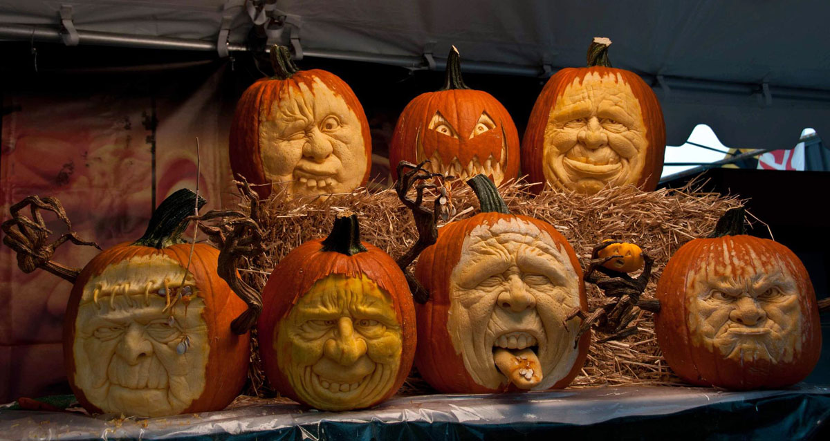 Pumpkin sculptor Gabe Vinas' finest work