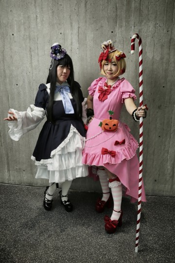 Cosplay fans attend the second day of New York Comic Con 2013 at The Jacob K. Javits Convention Center in New York City. (Neilson Barnard/Getty Images)