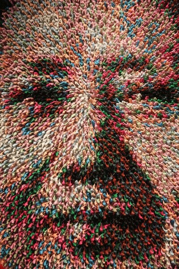 An artwork by Joe Black of Mao Zedong entitled, 'Workers of the World, Unite!', which is made from 9000 hand-painted toy soldiers, in the Opera Gallery on October 14, 2013 in London, England. The Opera gallery is hosting contemporary artist Joe Black's first solo exhibition entitled 'Ways of Seeing', which opens to the public on October 18, 2013. (Oli Scarff/Getty Images)