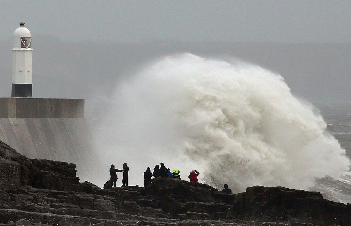 Britain prepares for worst storm in more than a decade