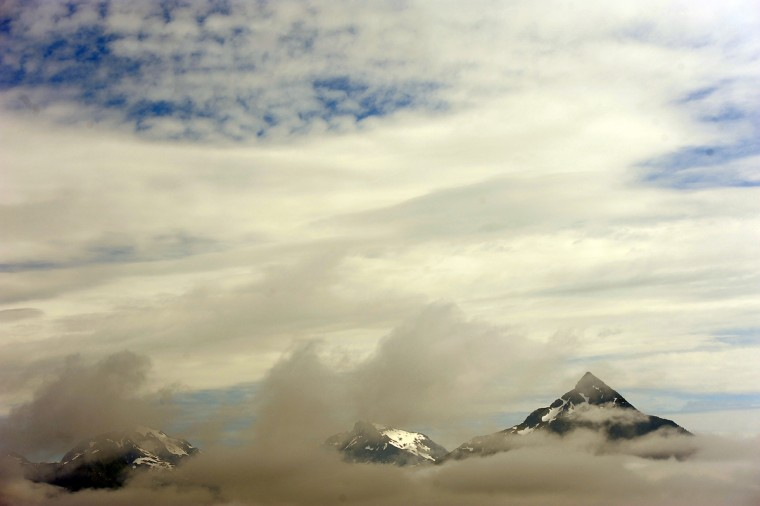 This is part of a mountain range near Sitka that commanded the view from a tour boat. (Kim Hairston/Baltimore Sun)