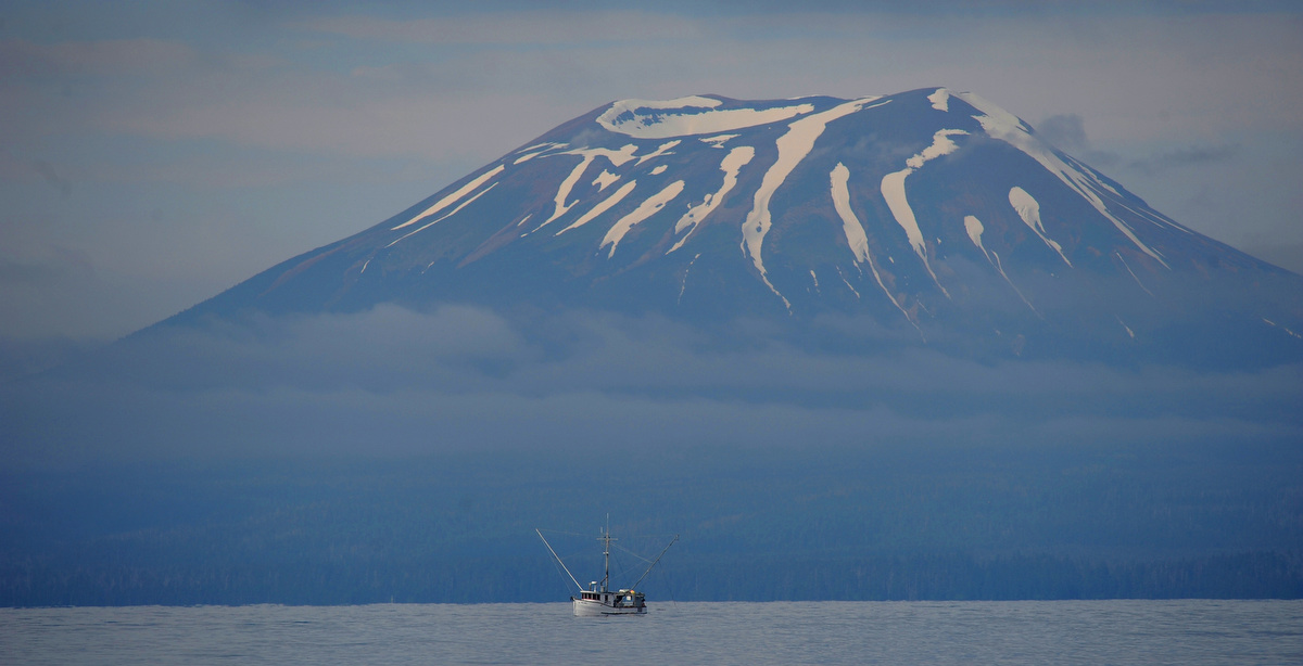 Cruising the Alaskan waters