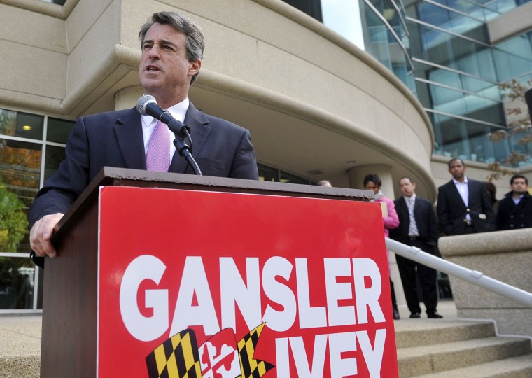 -Maryland Attorney General Douglas F. Gansler holds speaks with the media about the night he attended a teen party in Delaware where there was underaged drinking. (Kim Hairston/The Baltimore Sun)