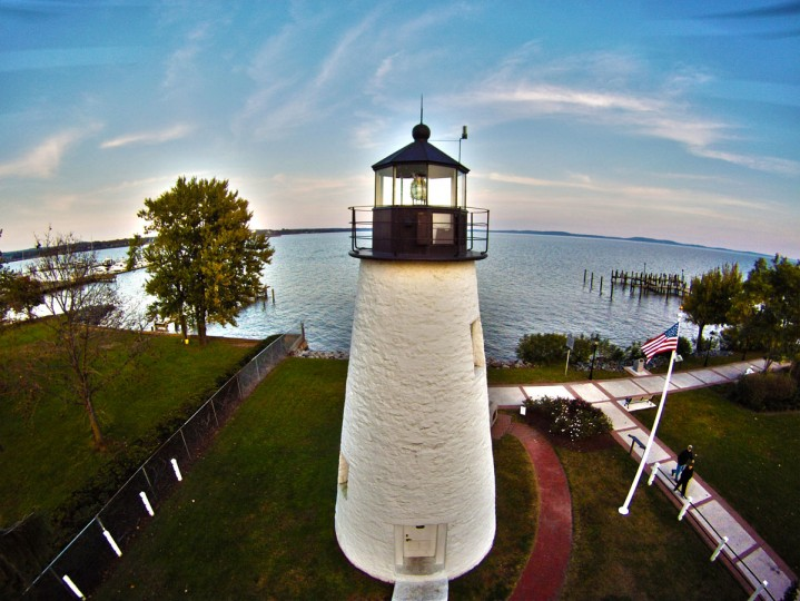 Concord Point in Havre de Grace: Oil over canvas print. (Courtesy of Elevated Element)