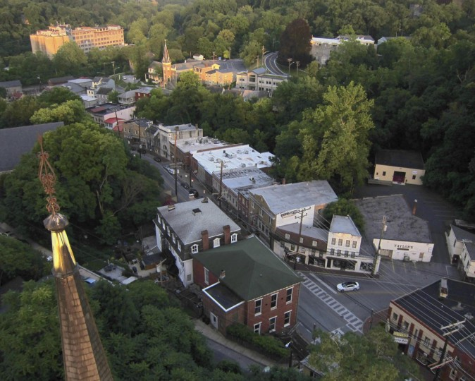 A view of Main Street in Ellicott City. (Photo courtesy of Elevated Element)