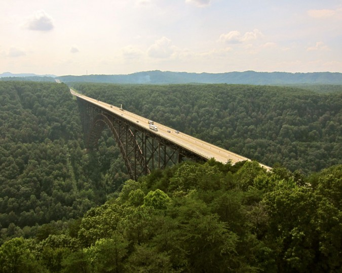 New River Gorge Bridge in Fayetteville, W.Va. (Photo courtesy of Elevated Element)
