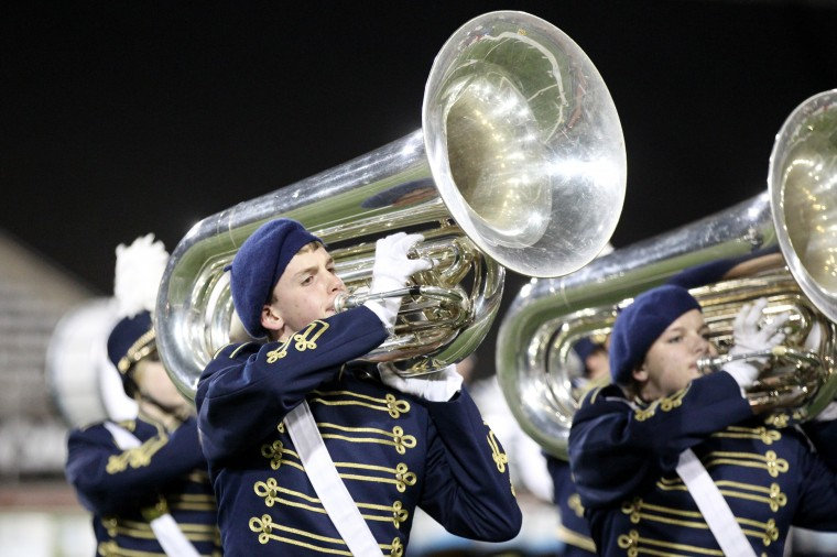 Perry Hall High School Marching Band Jacob Ingalls, 15, plays the tuba. (Jen Rynda/BSMG)