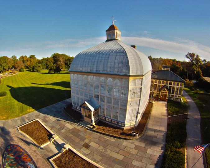 Rawlings Conservatory at Druid Hill Park. (Photo courtesy of Elevated Element)