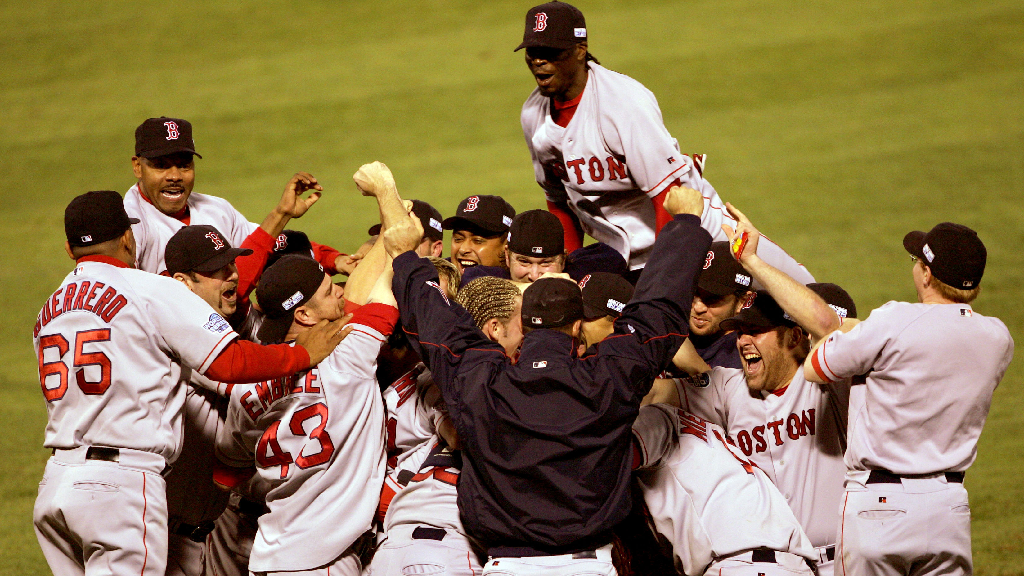 From the archives: Boston Red Sox vs. St. Louis Cardinals, 2004 World Series
