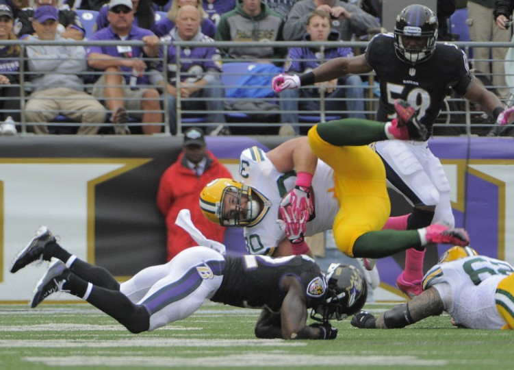 Ravens vs. Packers