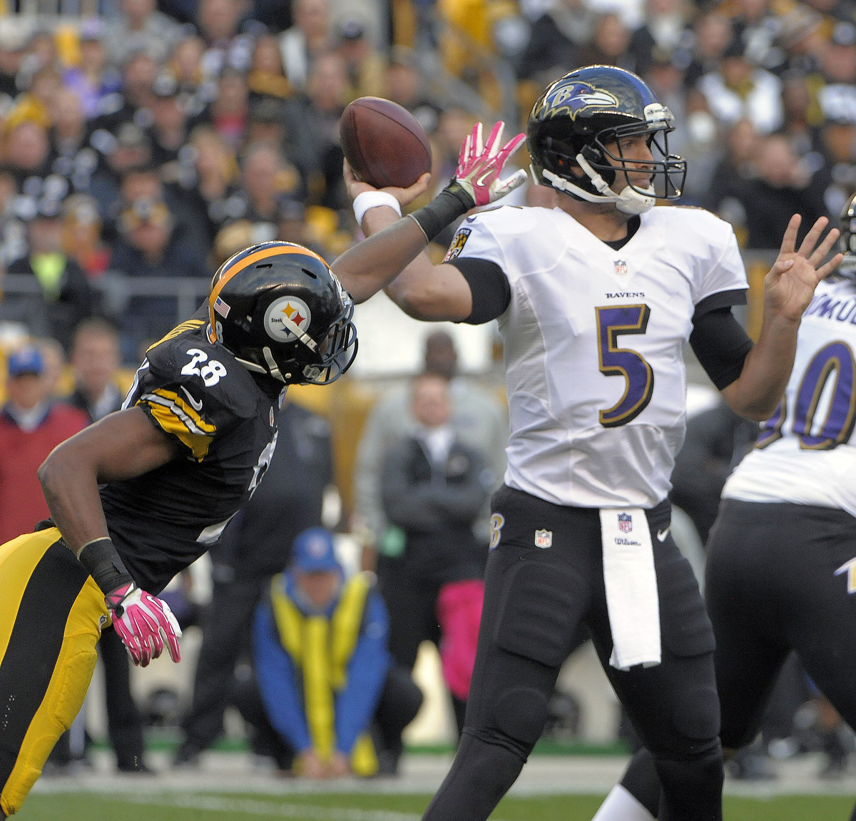 Rough Cut: A raw edit from the Ravens' loss to the Pittsburgh Steelers