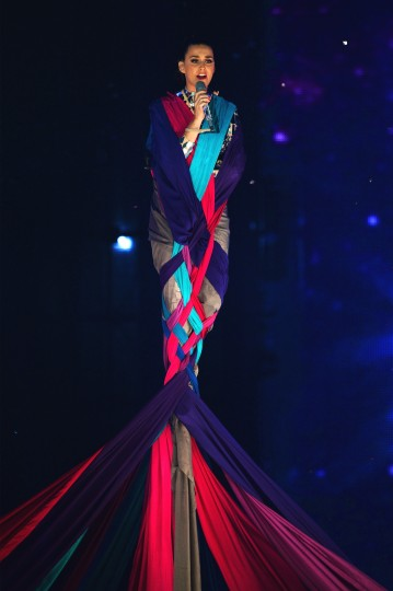 Katy Perry performs onstage during the MTV EMA's 2013 at the Ziggo Dome on November 10, 2013 in Amsterdam, Netherlands. (Ian Gavan/Getty Images for MTV)