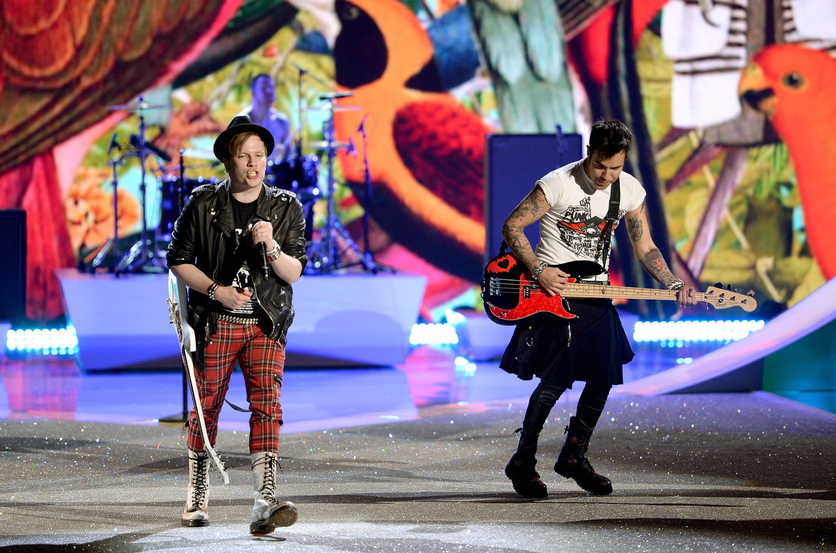 Fall Out Boy Victoria's Secret Fashion Show of the band Fall Out Boy