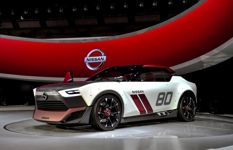 Nissan Motor Co. IDx Nismo is on display during the 43rd Tokyo Motor Show 2013 at Tokyo Big Sight on November 20, 2013 in Tokyo, Japan. (Keith Tsuji/Getty Images)