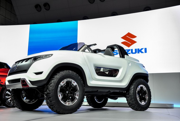 Suzuki Motor Corp. X-Lander concept vehicle is on display during the 43rd Tokyo Motor Show 2013 at Tokyo Big Sight on November 20, 2013 in Tokyo, Japan. (Keith Tsuji/Getty Images)