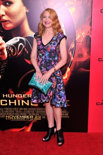 "Patricia Clarkson attends the ""Hunger Games: Catching Fire"" New York Premiere at AMC Lincoln Square Theater on in New York City. (Stephen Lovekin/Getty Images)"