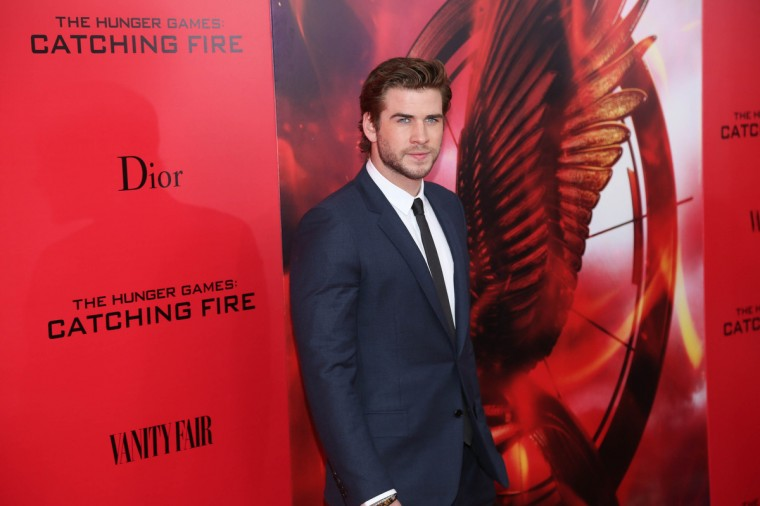 "Liam Hemsworth attends a special screening of ""The Hunger Games: Catching Fire"" in New York City. (Rob Kim/Getty Images)"