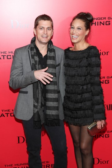 "Rob Thomas and Marisol Maldonado attend a special screening of ""The Hunger Games: Catching Fire"" in New York City. (Rob Kim/Getty Images)"