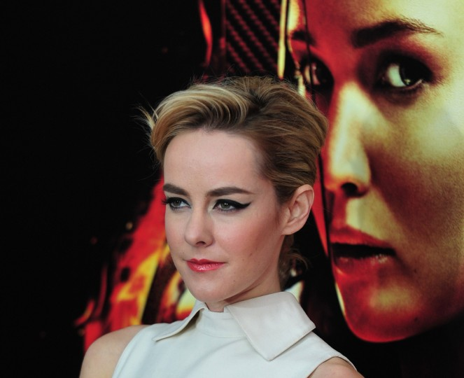 "Actress Jena Malone arrives at a special screening of ""The Hunger Games: Catching Fire"" in New York. (Stan Honda/Getty Images)"