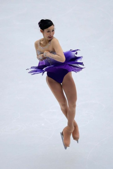 Haruka Imai of Japan skates in the Ladies Short Program during Lexus Cup of China ISU Grand Prix of Figure Skating 2013 at Beijing Capital Gymnasium on November 1, 2013 in Beijing, China. (Feng Li/Getty Images)