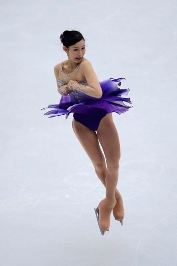 Haruka Imai of Japan skates in the Ladies Short Program during Lexus Cup of China ISU Grand Prix of Figure Skating 2013 at Beijing Capital Gymnasium on November 1, 2013 in Beijing, China. (Feng Li/Getty Images)