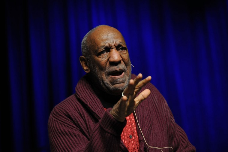Bill Cosby performs at The New York Comedy Festival And The Bob Woodruff Foundation Present The 7th Annual Stand Up For Heroes Event at The Theater at Madison Square Garden on November 6, 2013 in New York City. (Bryan Bedder/Getty Images for New York Comedy Festival)