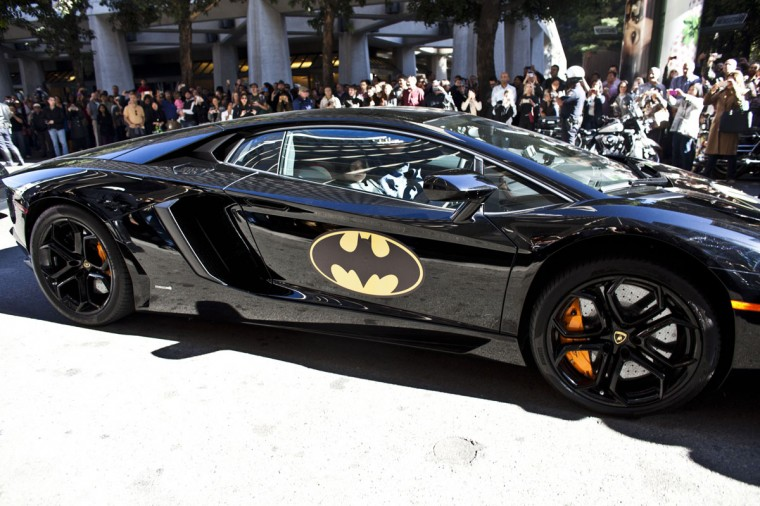 Five-year-old leukemia survivor Miles, also known as BatKid leaves in his Batmobile after arresting the Riddler November 15, 2013 in San Francisco. Make-A-Wish Greater Bay Area foundation turned the city into Gotham City for Miles by creating a day long event bringing his wish to be a BatKid to life. (Ramin Talaie/Getty Images)