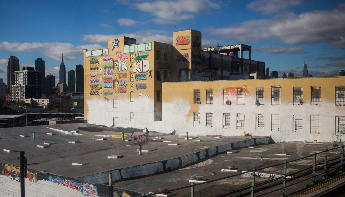 5 Pointz Repainted And Erased Overnight In Queens New York