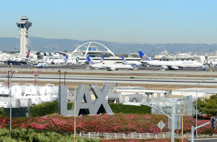 Los Angeles International Airport is seen on November 1, 2013, after a gunman repotedly shot 3 people at a security checkpoint. (Frederick Brown/Getty Images)