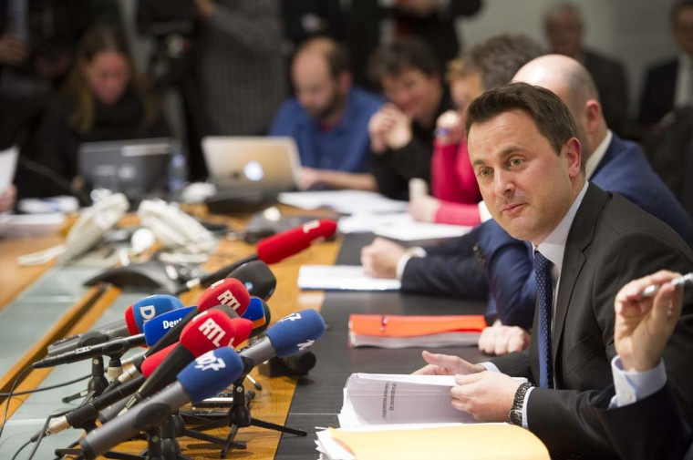 Xavier Bettel, 40, currently mayor of the city of Luxembourg, said on November 29 he had agreed coalition terms with the Socialist and Green parties to lead a new government, replacing 19-year veteran Jean-Claude Juncker as prime minister. Bettel is expected to take the oath of office on December 4, with the list of ministers to follow. ANTHONY DEHEZ/AFP/Getty