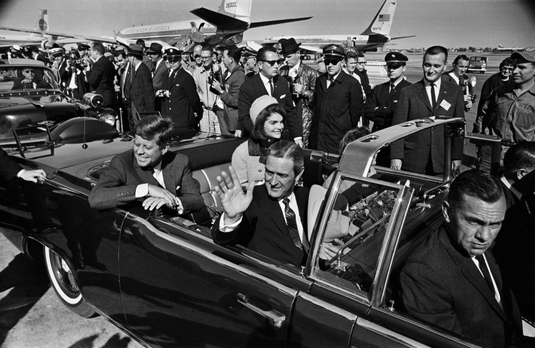 A 10-mile drive through Dallas and a speech on national security at the Trade Mart awaited President John F. Kennedy, as he, first lady Jacqueline Kennedy, Texas Gov. John Connally and Nellie Connally, departed Love Field on Nov. 22, 1963. Less than a hour later, three gunshots would shatter the president's plans, and plunge the nation into profound grief. Take a trip back to that fateful day, 50 years ago. (Tom Dillard/Dallas Morning News/MCT)