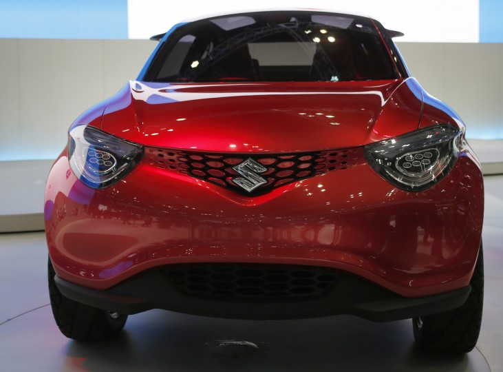 Suzuki Motor Corp's Crosshiker concept car is seen at the 43rd Tokyo Motor Show November 20, 2013. Fourteen Japanese and 18 overseas carmakers and motorbike manufacturers are participating in the Tokyo Motor Show, which kicked off on Wednesday for the media. (Yuya Shino/Reuters)