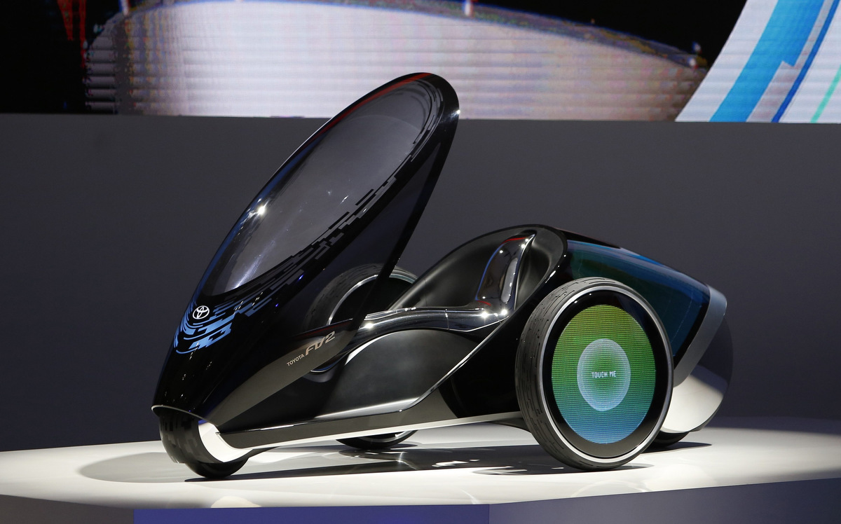 Concept trikes and electric cars shine at the 43rd tokyo for Concept expo