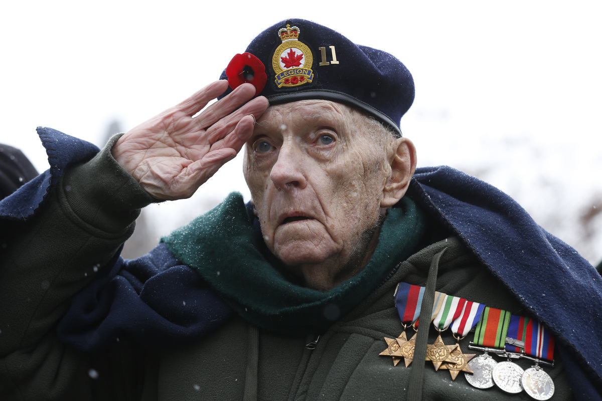 Veterans Day celebrated around the world