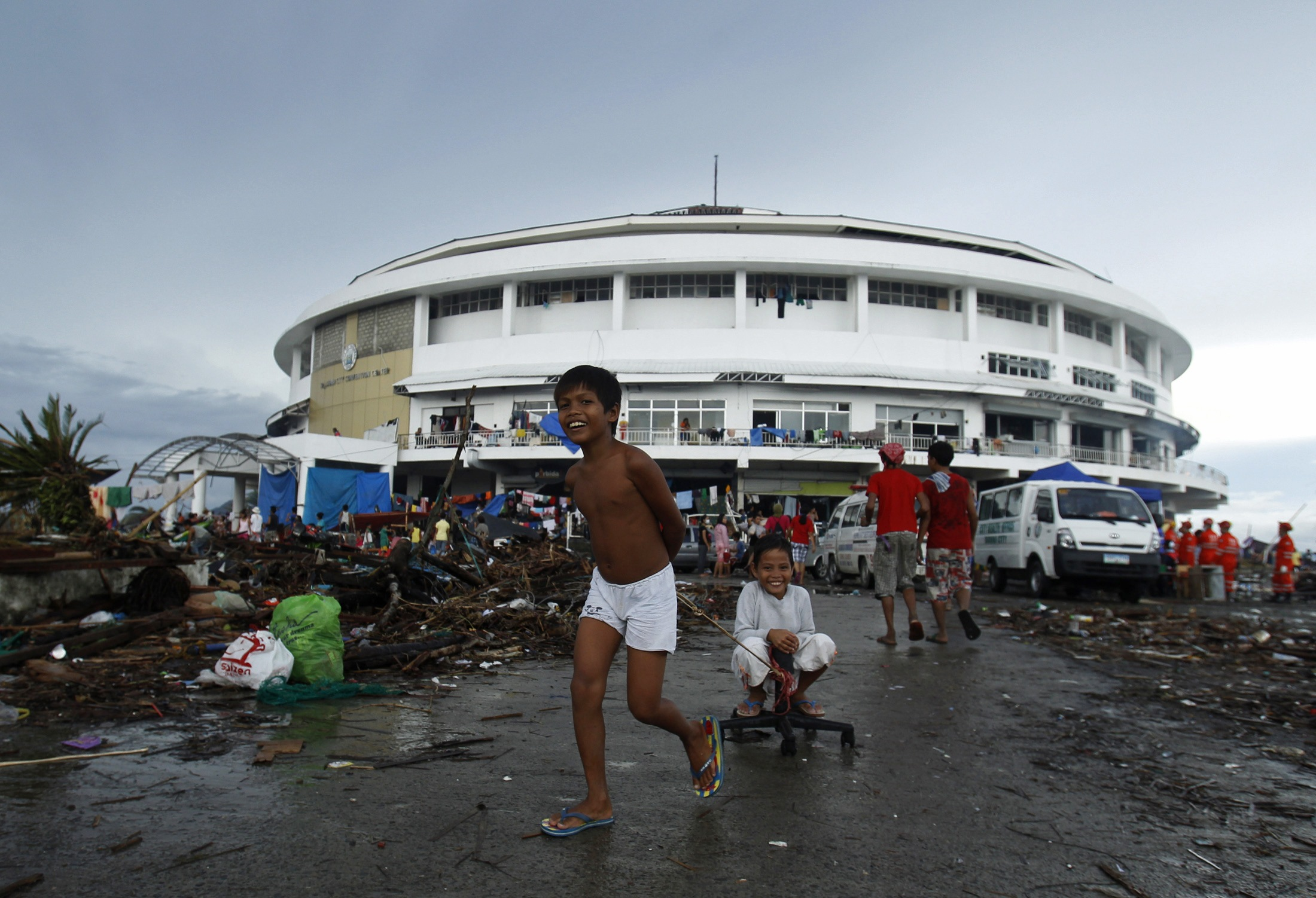 Tacloban City Philippines  city pictures gallery : Tacloban city in central Philippines November 12, 2013. Philippine ...