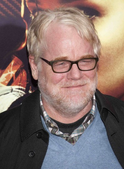 "Actor Philip Seymour Hoffman attends the premiere of the film ""The Hunger Games: Catching Fire"" in New York. (Carlo Allegri/Reuters photo)"
