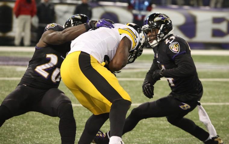 Ravens 22, Steelers 20 - 140